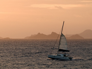 Sailing out in the early morning. Photo credit- Henkjan Kievit: SHAPE/DCNA
