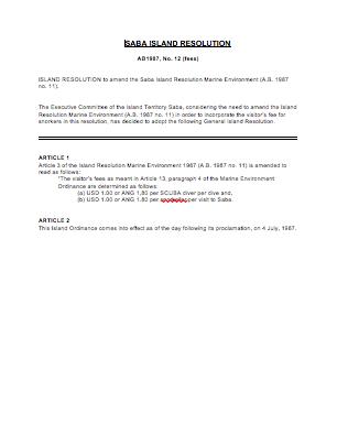 Screen Shot B3-SabaIslandResolutionfees-AB1987-12 2012-10-09 at 12.04.25 PM