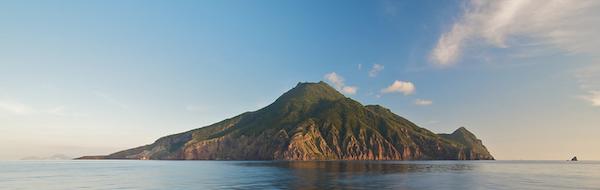 Saba island - banner